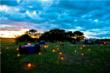 Romantic Africa trend includes candlelit bush dinners © Africa Adventure Consultants