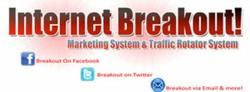 Internet Breakout is a co-op that offers members lead generation services based on a unique advertising system