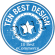 Best eCommerce Web Design of 2012 Site Badge