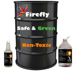 NON-TOXIC, Eco-Friendly Fuel available in 32 oz., 128 oz. and 55-gallon drums