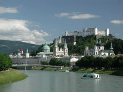 Salzburg,, where The Sound of Music was filmed and home to two Mozart museums.