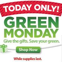 Green Monday Deals 2012