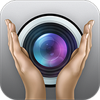 Look for the Snap Clap photography app icon