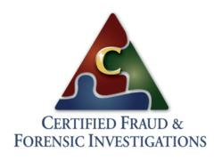 Certified Fraud and Forensic Investigations