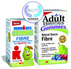 IronKids and Adult Essentials Fibre Gummies Earn the PTPA Seal of Approval