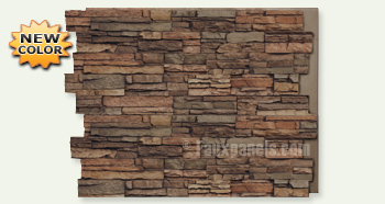 """FauxPanels.com Adds the Color """"Earth"""" to 5 of Its Stone Siding Styles"""