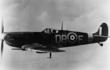Flying High - Bill Ash in his Spitfire, shortly before he was shot down in 1942