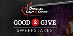 Good 2 Give Sweepstakes Logo