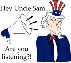 Is Washington listening?