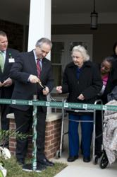 Ribbon cutting of the Heron Cove at Sanders in Gloucester, Va.