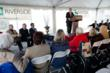 Heron Cove at Sanders ribbon cutting ceremony.