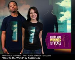 Photo Real 1st Place t shirt design winner