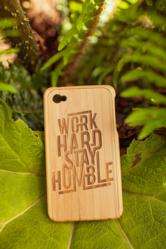 Mantrastyle customizable bamboo iPhone cases make a unique gift for the design geek on your shopping list