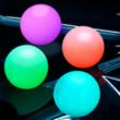 Pool decorative lighted orbs from glowsource.com