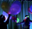 How to Throw a New Years Eve Glow-in-the-Dark Party from...