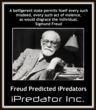 SIGMUND-FREUD-PREDICTED- IPREDATOR