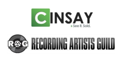 Cinsay, RAG, Recording Artists Guild, Music, eCommerce