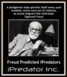 SIGMUND-FREUD-PREDICTED- IPREDATOR