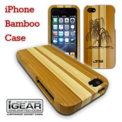 Engraved Bamboo iPhone Case