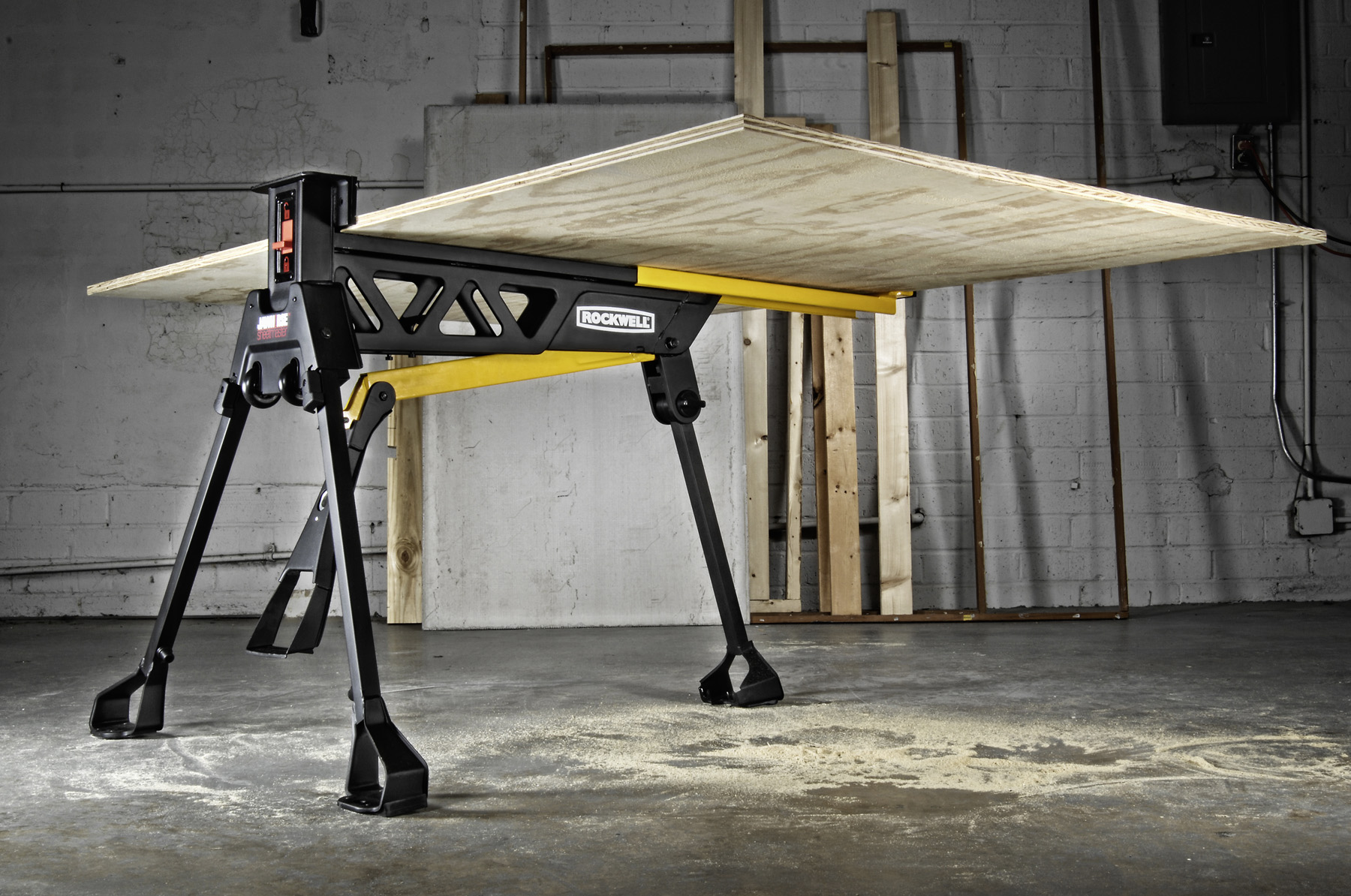 Jawhorse Sheetmaster Is Newest Rockwell Workstation