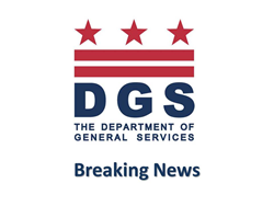 Breaking News from the DC Department of General Services.