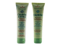 ClayBrite is a non-fluoride toothpaste (3.2 oz)