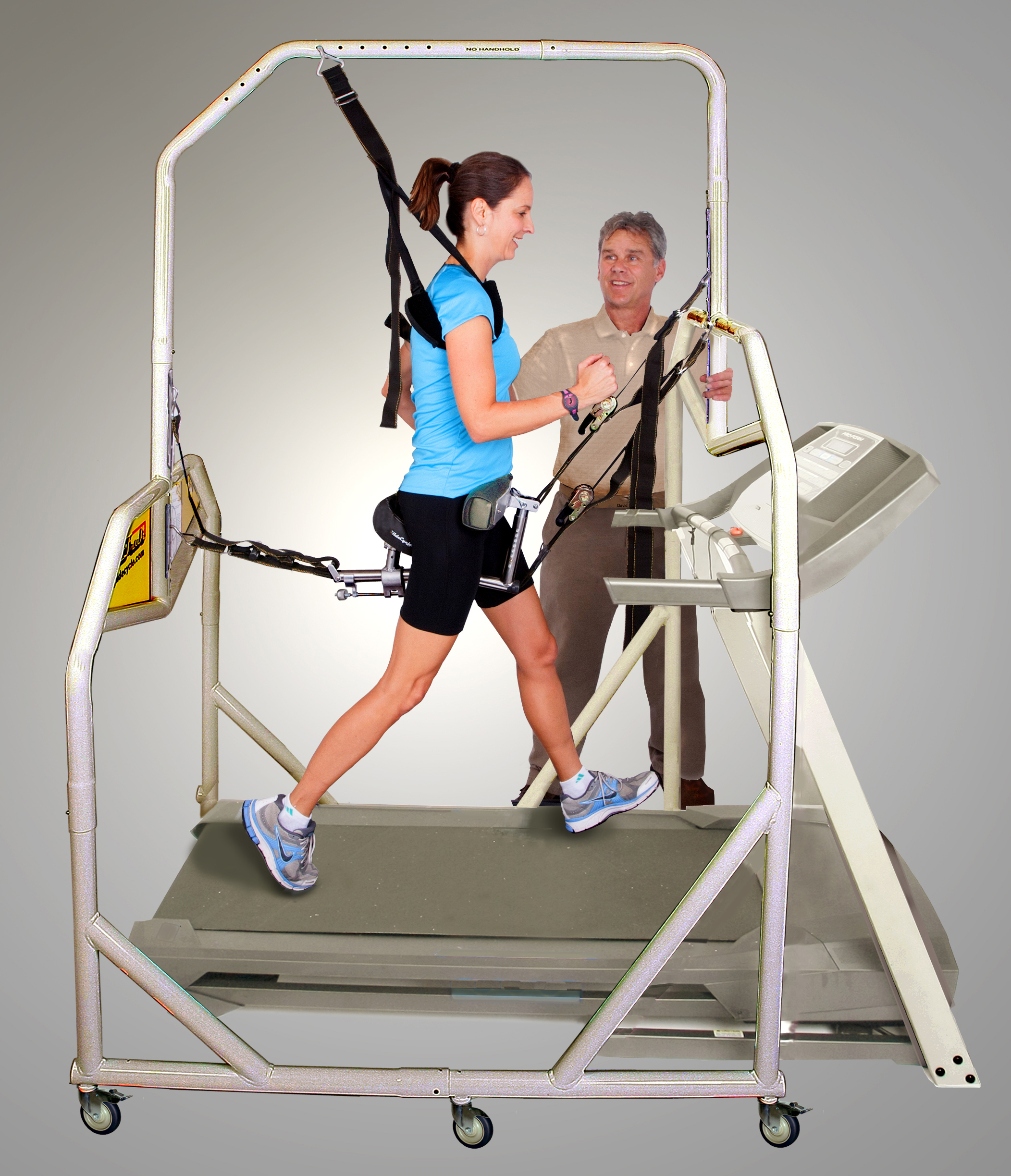 Physical Therapy Treadmill Support Harness