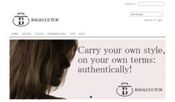 The front page of www.bagandclutch.com