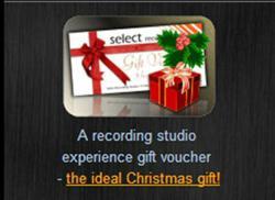 Select Recording Studios start Christmas Craze!