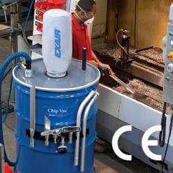 EXAIR's new 110 gallon Chip Vac