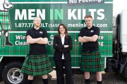 Tressa Wood, CEO Men In Kilts Window Cleaning Franchise