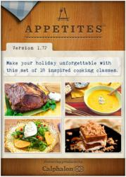 Appetites Cooking Class App for IOS