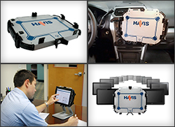 Havis Expands Tablet Docking and Cradle Line with New Universal Tablet Mount