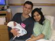 The Fahad family was thrilled at their son Ehan's unique birth date.
