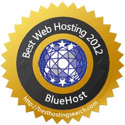 Best Web Hosting 2012 Award