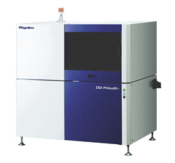 Tube-above wavelength dispersive X-ray fluorescence spectrometer