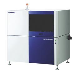 Tube-above wavelength dispersive X-ray fluorescence spectrometer
