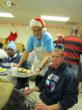 Bayer CropScience Volunteers Serve Patrons a Special Holiday Meal