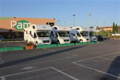 motorhome hire from Italy to Cheshire