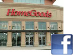 $25.00 to HomeGoods for Facebook Friends