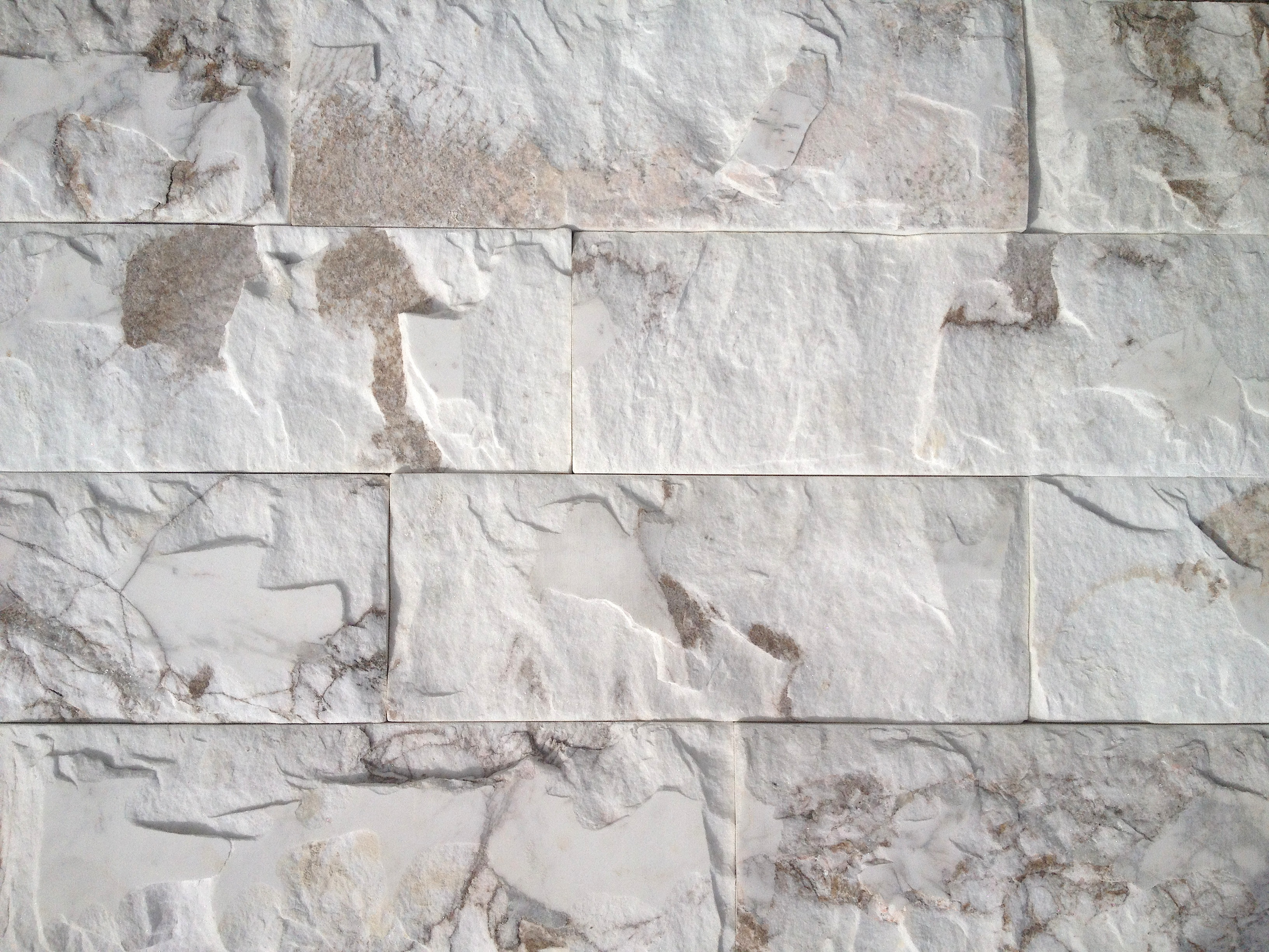 creating a feature wall mineral tiles launches split face