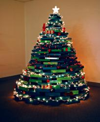 samsill decks the halls with unique christmas tree time lapse video - Different Christmas Trees
