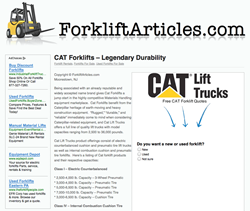 Used CAT Lift Trucks For Sale