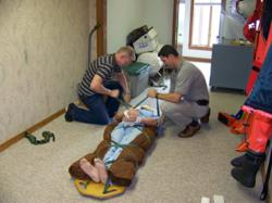 first aid class at Chesapeake Marine Training Institute
