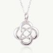 Celtic Cross Knot, Celtic Knot pendant, Celtic Promise, Everyday pendant