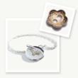 Irish Charm Bracelet, Button Charm Bracelet, Button jewelry, Memory Bracelet, Celtic Promise