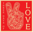 Celebrated graphic designer, Shepard Fairey, contributed his iconic design, Peace Fingers, for the Three Days of Love campaign.