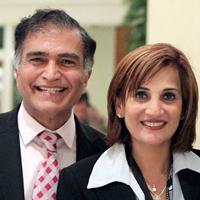 Ketan C. Mehta, M.D. CEO & Founder andNina Mehta, President