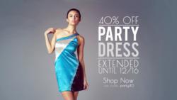 party dresses on sale at soie shop