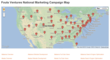 Fouts Ventures National Marketing Campaign Map